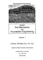Geotechnical Engineering Study Resources
