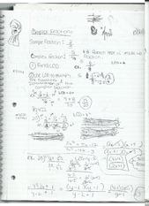 Prime factorization and least common denominator