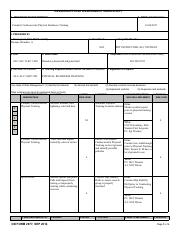 It is used by the united states department of the army. Sgt T Homas Draw Pdf Deliberate Risk Assessment Worksheet 1 Mission Task Description 2 Date Dd Mm Yyyy Conduct Cardiovascular Physical Readiness Course Hero