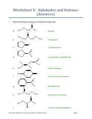 SCC1226 worksheet 5 aldehydes ketones answers.pdf