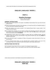 P1_RP - DSE-MOCK-2013 ENG LANG PAPER 1 HONG KONG DIPLOMA OF SECONDARY EDUCATION EXAMINATION A COMPULSORY PART A HKDSE Mock Exam(2013 ENGLISH ...