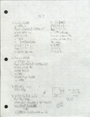 MATH 1331- Chapter 10.5 problems (worked)