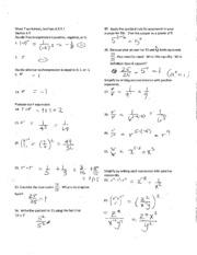 Math 100 Fundamentals Of Mathematics