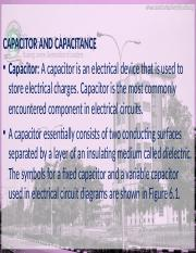 Capacitor Ppt Www Covenantuniversity Edu Ng Capacitor And