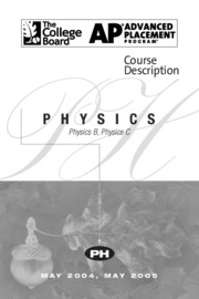 Scoring the AP Physics C Exam(scoring guidelines, raw
