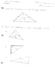 answer key-perpendicular and angle bisectors