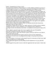 POLISCI 361 : CIVIL LIBERTIES - UMass (Amherst) - Course Hero