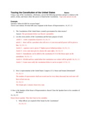 Cp Government Constitution Worksheet