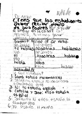 Spanish IR and Tener Worksheet