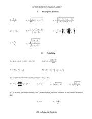 Ap stats formula sheet 2015