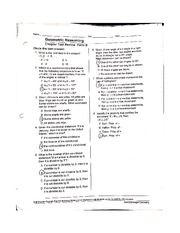 Measuring and Constructing Segments and Angles Worksheet