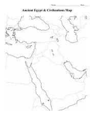 Ancient Mesopotamia Map Worksheet Pdf