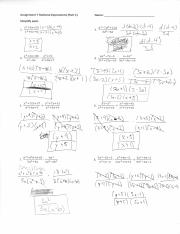 Rational Expressions Study Resources