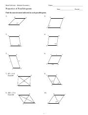Parallelograms Study Resources