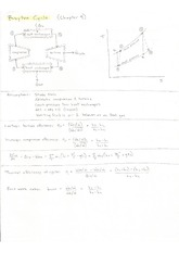 Heat Transfer Cheat Sheet