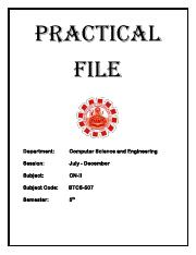 Computer Networks-2 Practical File Lab Manual.pdf