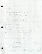 Relative Extrema Notes