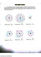 bohr diagram worksheet answer key database model template visio 2013 practice scanned by camscanner