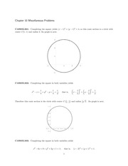 Completing The Square Study Resources