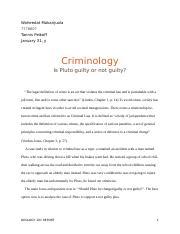 Criminology Essays Soc Criminology Um Page Course Hero Inventing