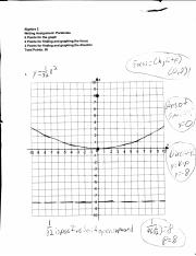 Writing Assignment Graphing Systems of Linear Inequalities