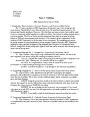 Compare or contrast essay outline  Writing a CompareContrast Essay