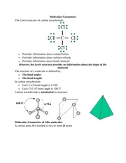 Vsepr Worksheet Answers