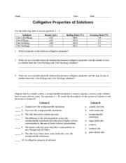 Worksheet - Molarity by Dilution - Teacher - M 1 V 1 = M 2 ...