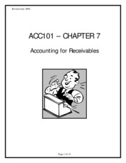 Receivables are usually listed in order a Of liquidity b