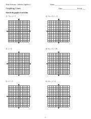 Solving Linear Inequalities Worksheet Kuta Software