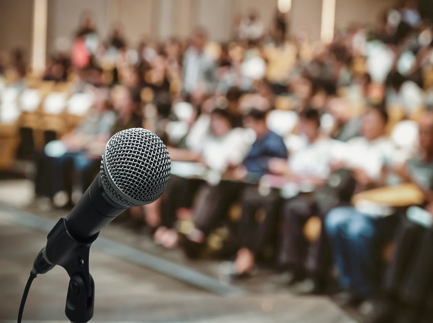 Take a Public Speaking Course