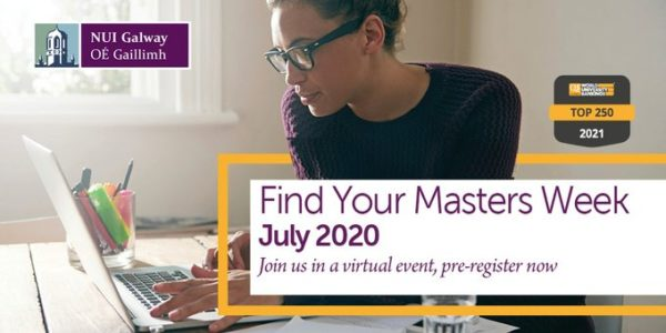 Find Your Masters Week at NUI Galway