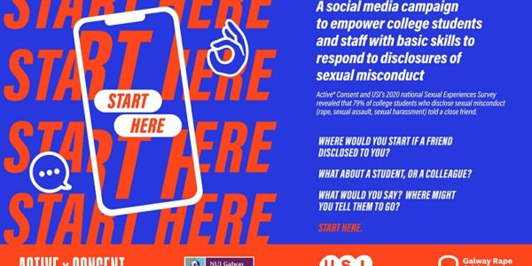 """Active* Consent, USI and GRCC Launch of """"Start Here"""" Social Media Campaign"""