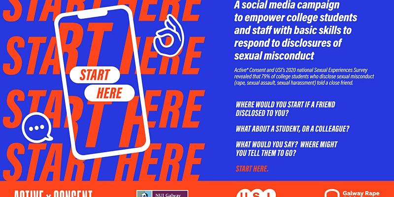 "Active* Consent, USI and GRCC Launch of ""Start Here"" Social Media Campaign"