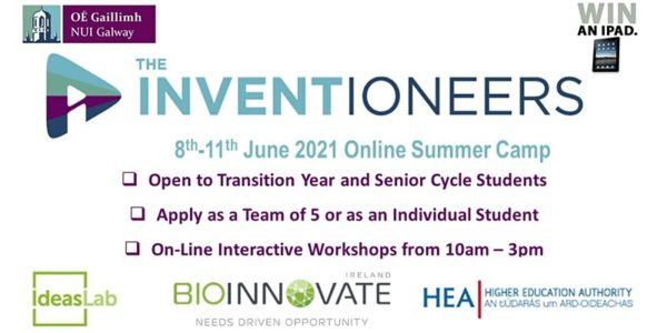 The Inventioneers Online Camp for TY Students