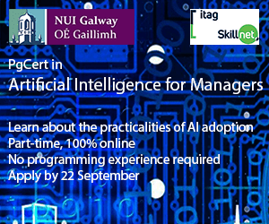 PgCert in AI for Managers