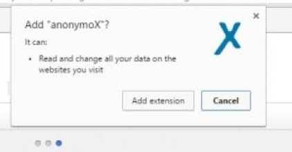 فتح المواقع المحجوبة anonymoX 2