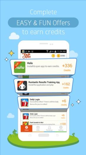 تطبيق Tap Cash Rewards لربح المال لهواتف الاندرويد 2017