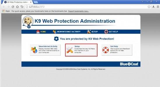 تحميل برنامج K9 Web Protection 9