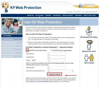 K9 Web Protection برنامج حجب المواقع الغير مرغوب فيها 2