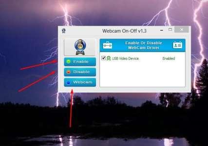 تحميل WebCam On Off