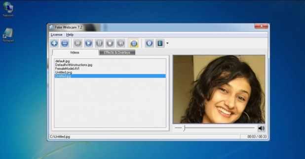 تحميل Fake Webcam