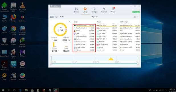 تحميل برنامج GlassWire لمعرفة البرامج التي تستهلك الإنترنت وإيقافها
