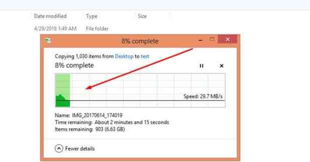 تسريع نسخ الملفات من وإلي مفاتيح ال USB وبدون تحميل أي برامج كمبيوتر