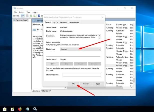 كيفية طريقة إيقاف تحديث ويندوز 10 بدون برامج