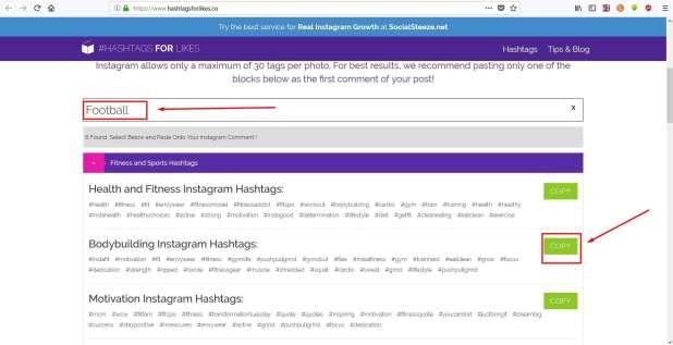 hashtagsforlikes مواقع لزيادة عدد لايكات انستقرام