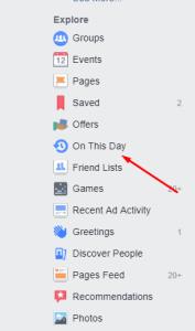 Facebook Memories اخر ابتكارات فيس بوك
