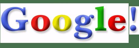 تاريخ شعار google الاول