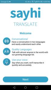 تحميل تطبيق ترجمة صوتية فورية