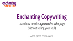 Henneke Duistermaat – The Enchanting Copywriting Course